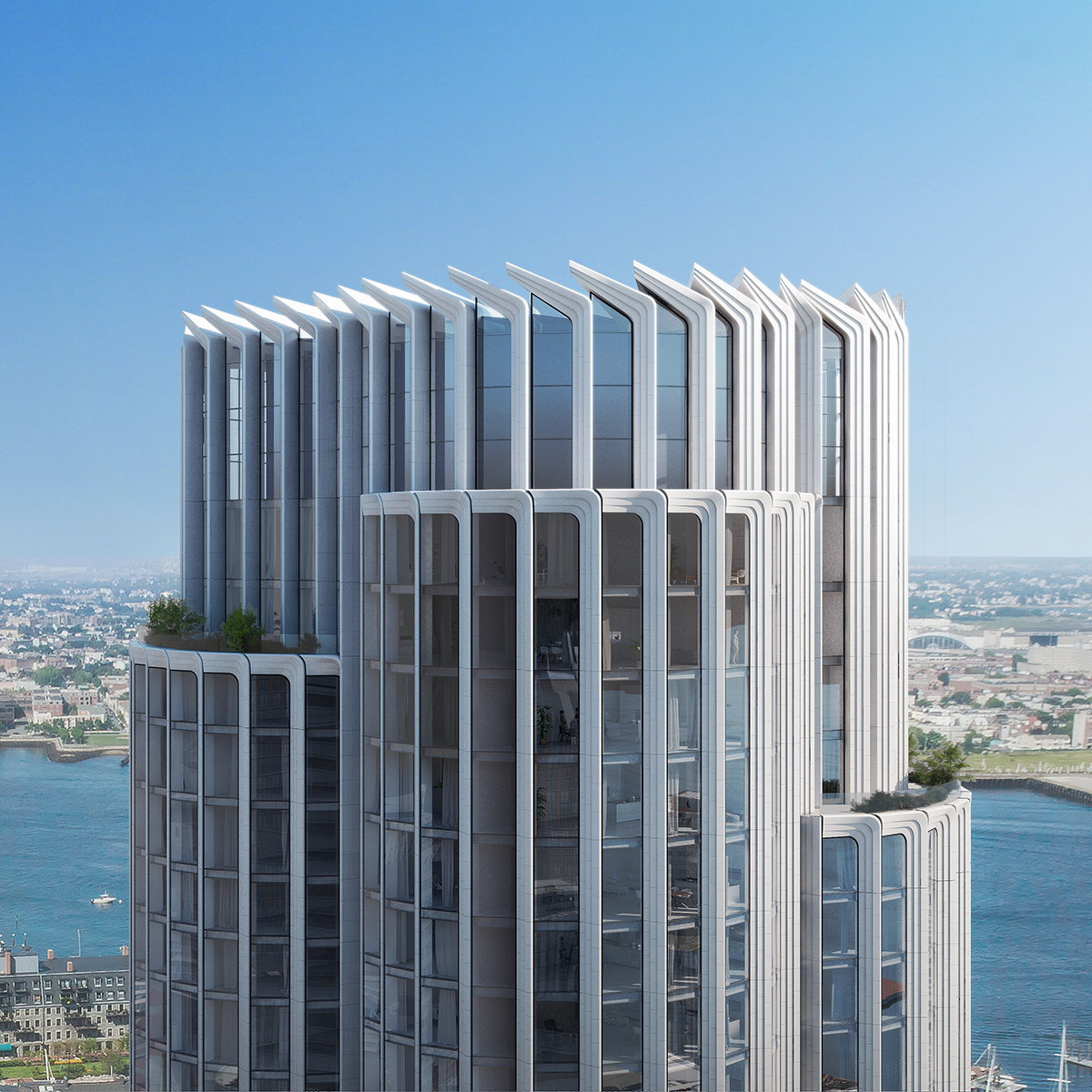 KPF Unveils The Pinnacle at Central Wharf