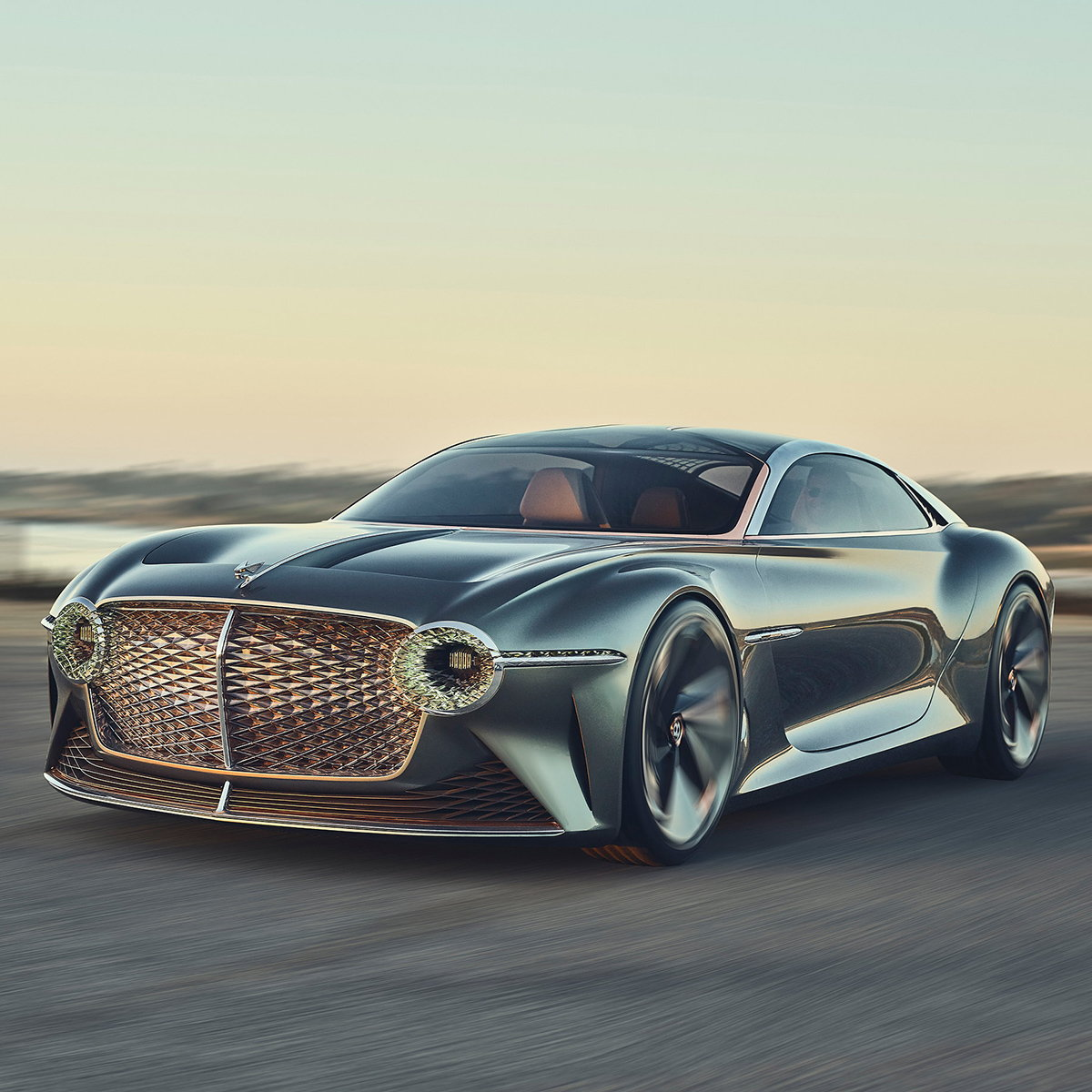 Bentley EXP 100 GT Named 'Most Beautiful Concept Car of the Year'