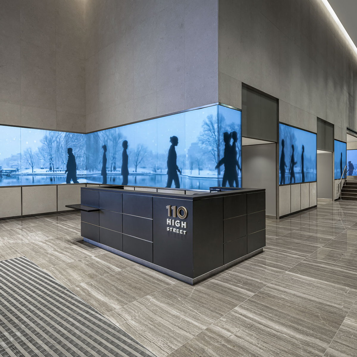 Boston Media Band at 110 High Street by ESI Design