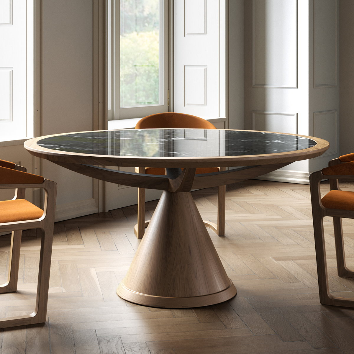 Wewood Debuts Vasco Table by Variaforma