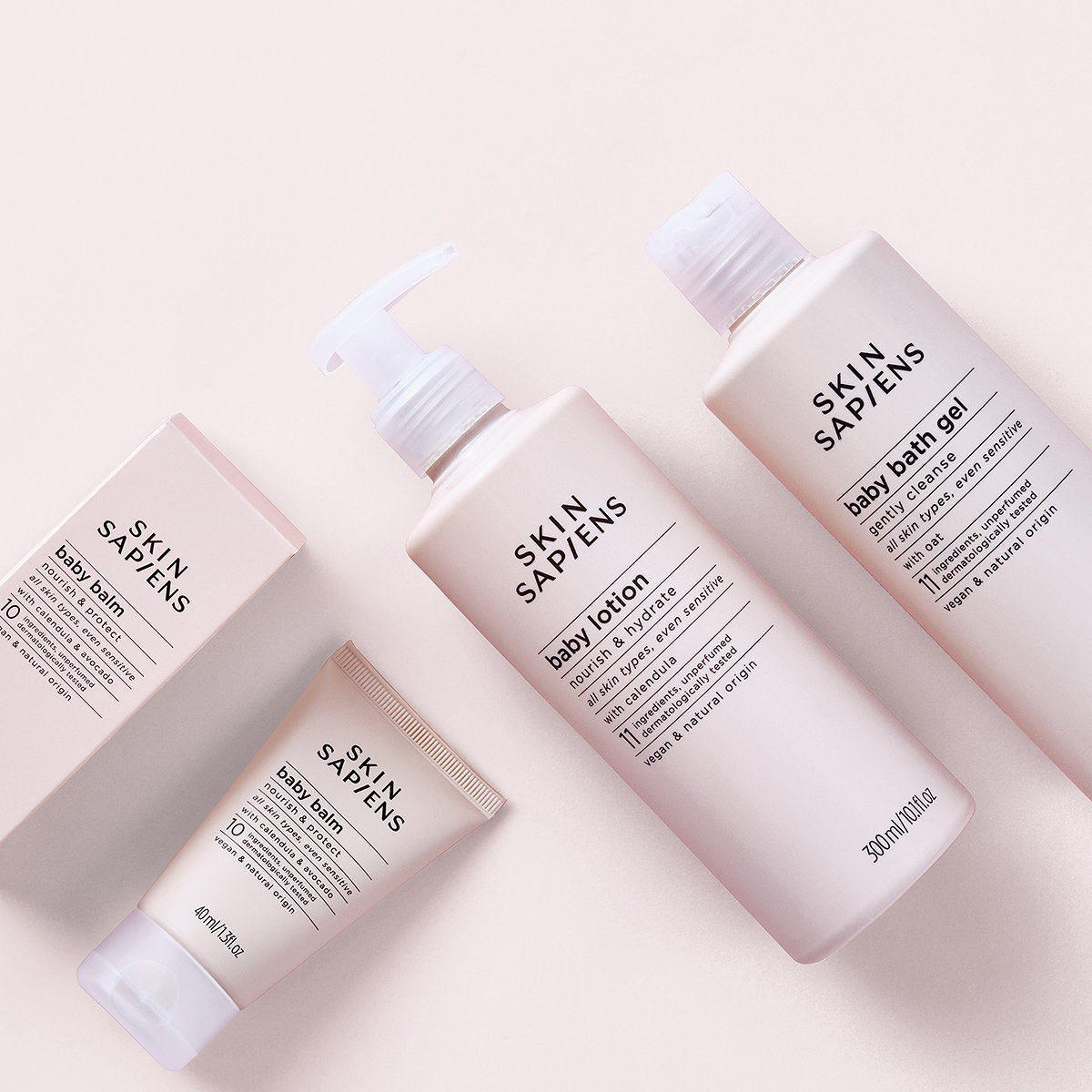 Lewis Moberly Designs Identity and Eco-packaging for Skin Sapiens