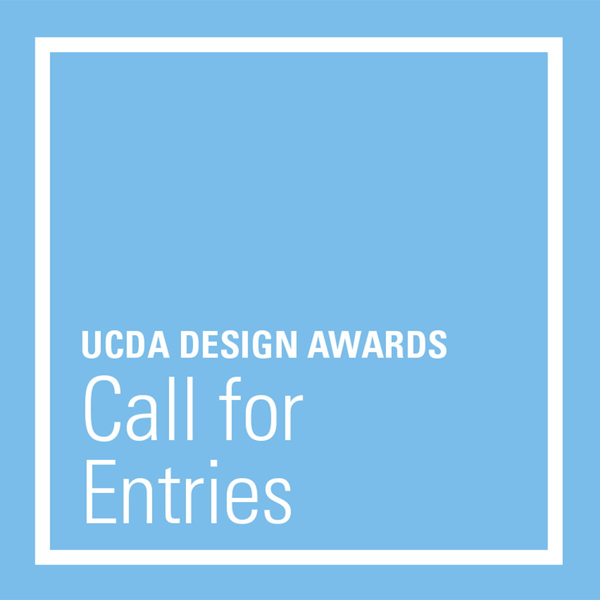 UCDA Design Awards 2020