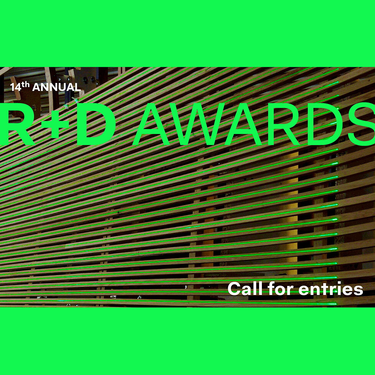 R+D Awards 2020 - Call for Entries