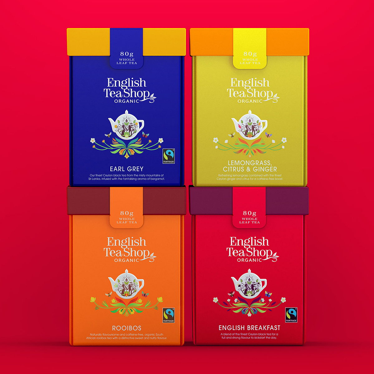 Echo Collaborates with English Tea Shop to Create 100 Percent Compostable Packaging