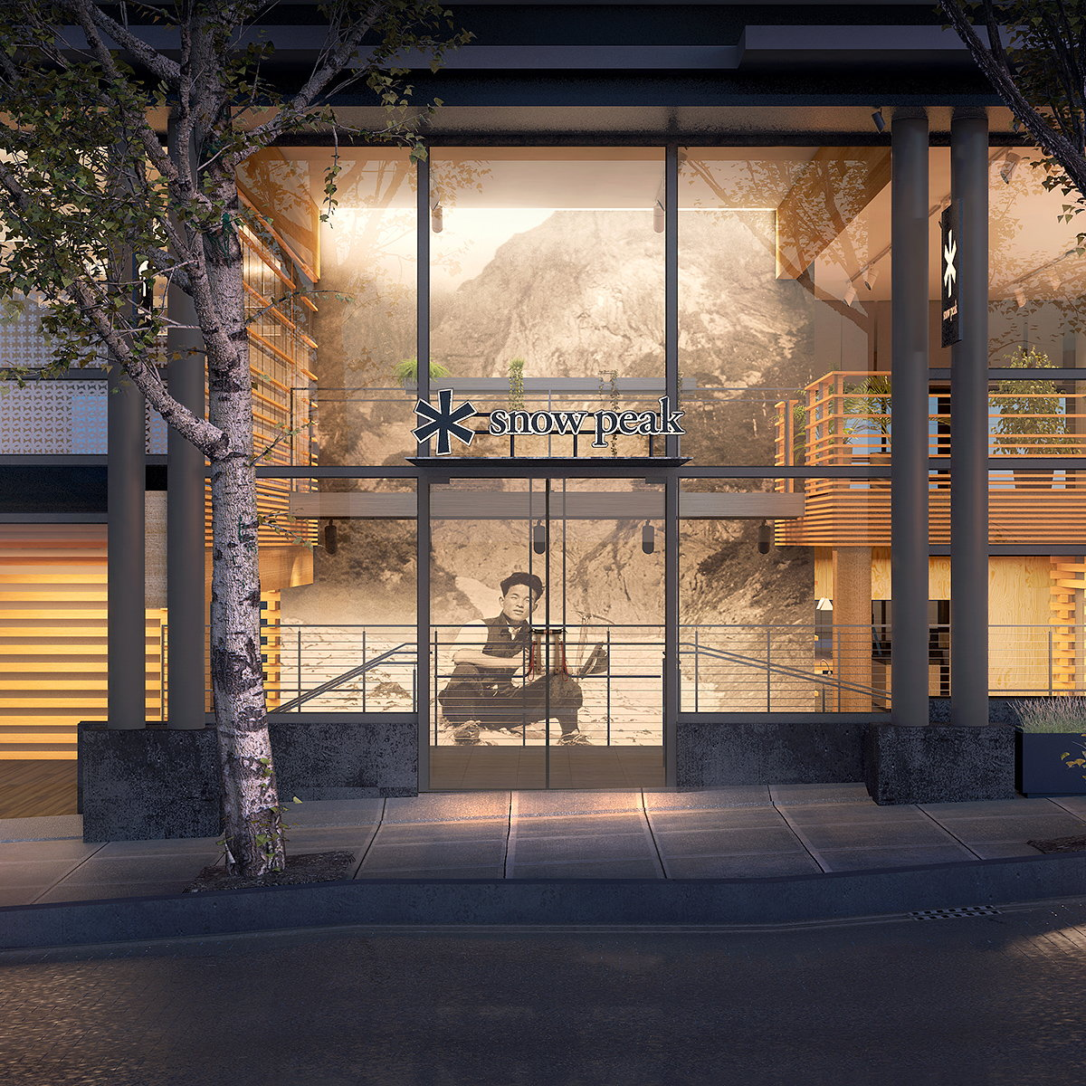 Skylab Unveils Designs for Snow Peak HQ in Portland, Oregon