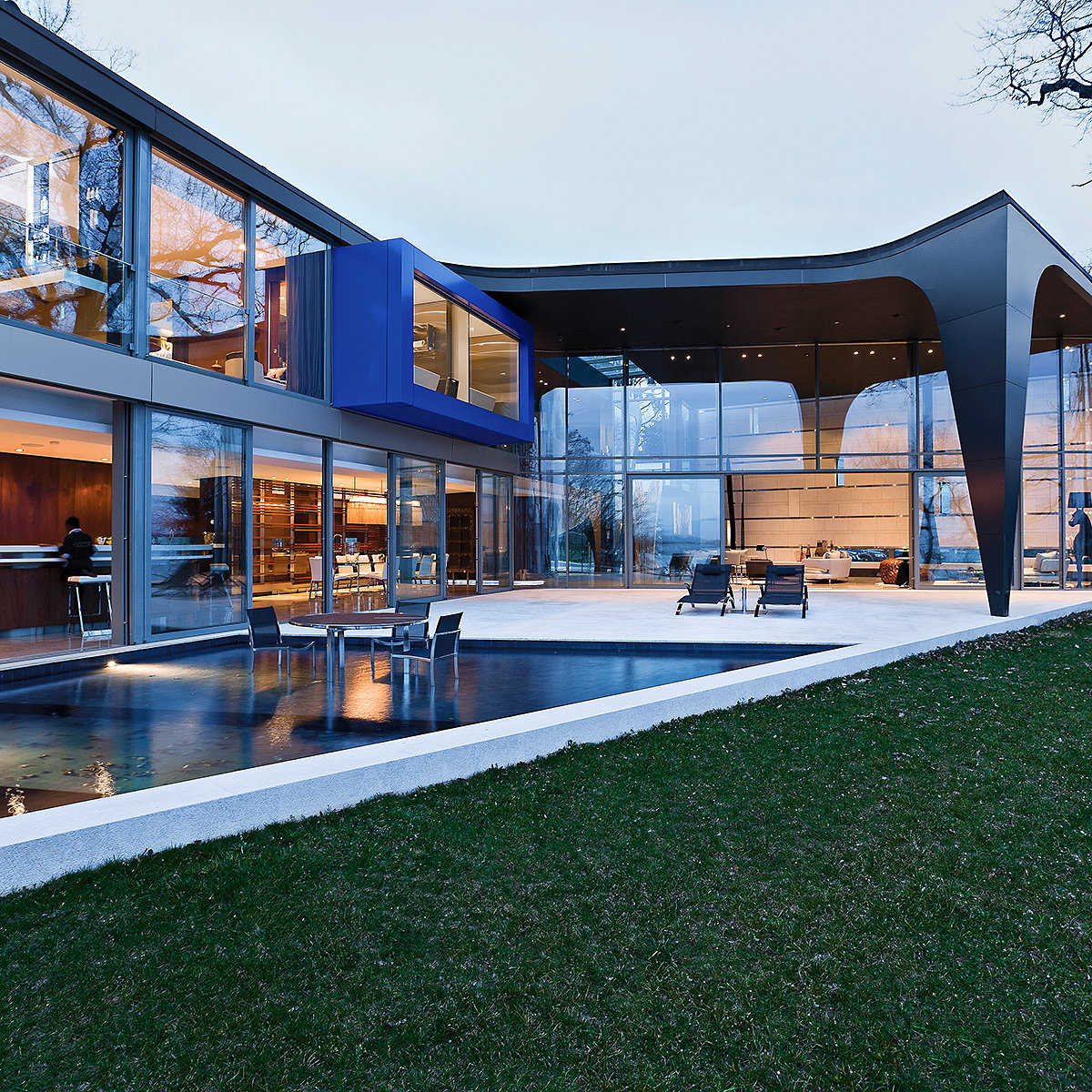 ARRCC Completes Lake House on the Banks of Lake Geneva, Switzerland