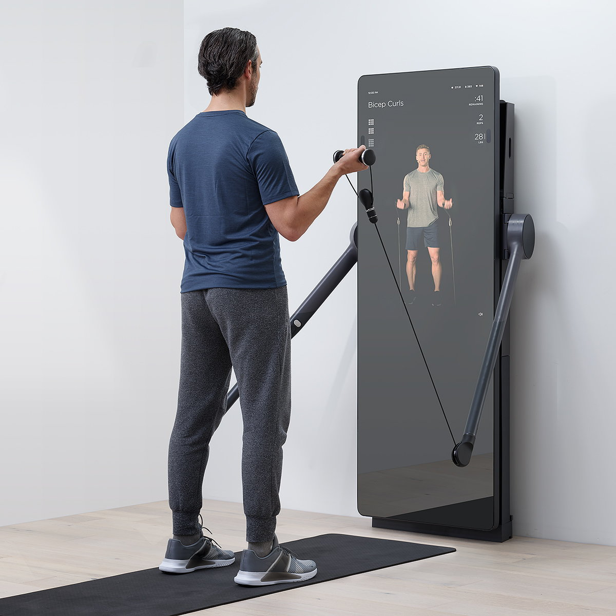 fuseproject Unveils All-in-one Home Fitness System 'Forme'