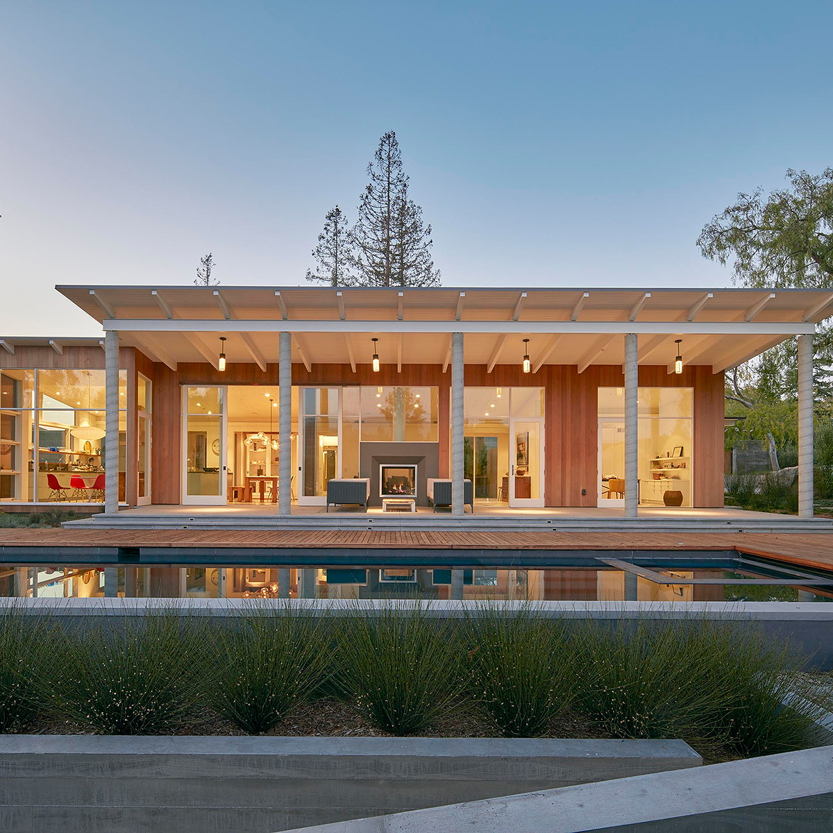 Malcolm Davis Architecture Completes Sustainable, Modern-Day California Ranch House