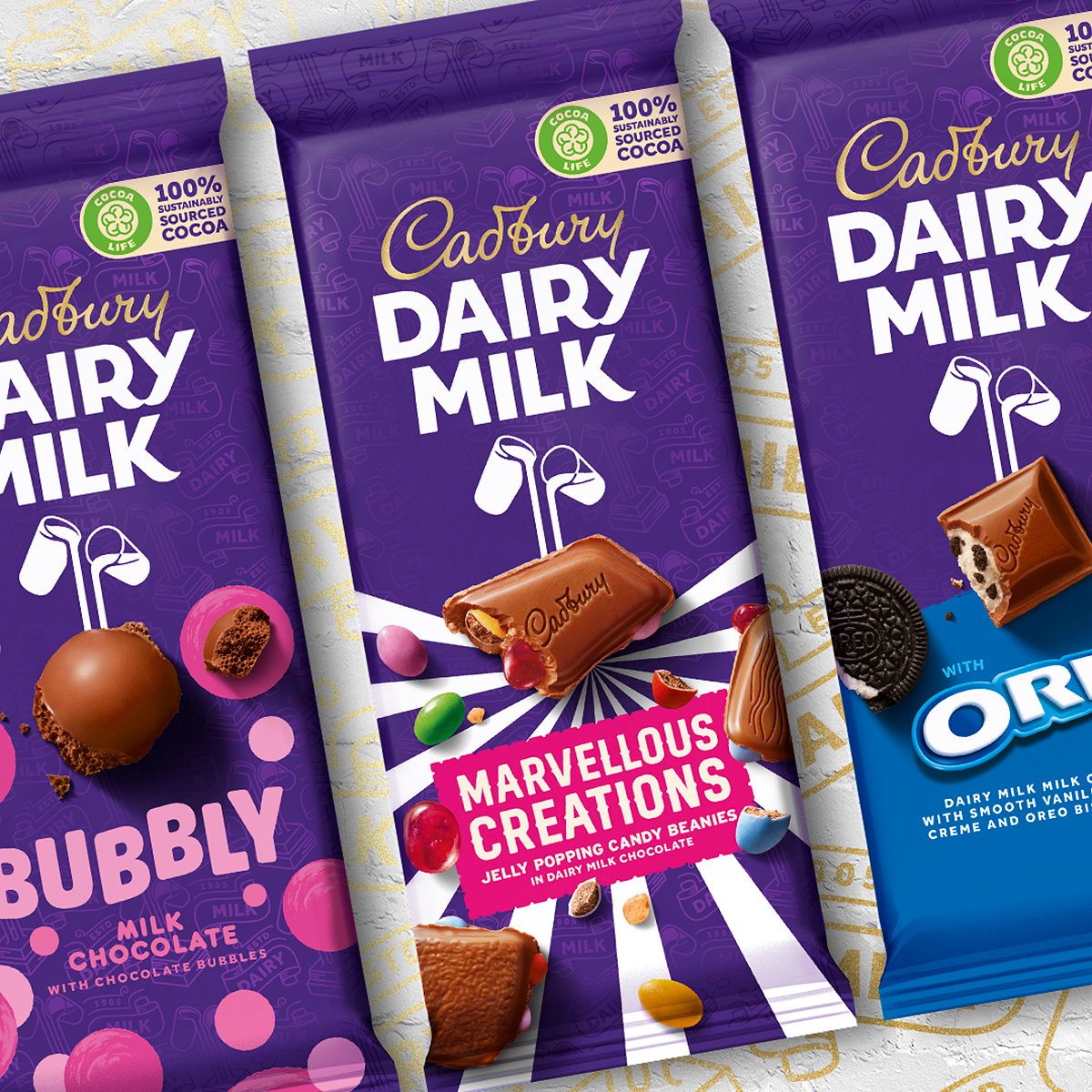 Bulletproof Designs New Global Brand Identity for Cadbury