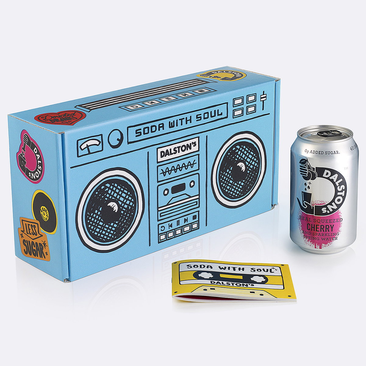 B&B Studio Designs Delivery Boxes for Dalston's Soda