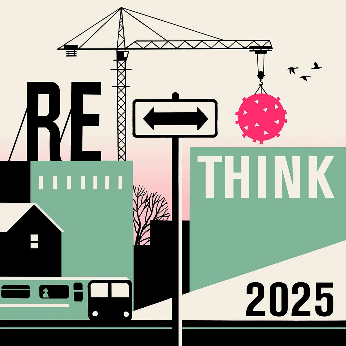 RIBA Launches 'RETHINK - 2025' Design Competition
