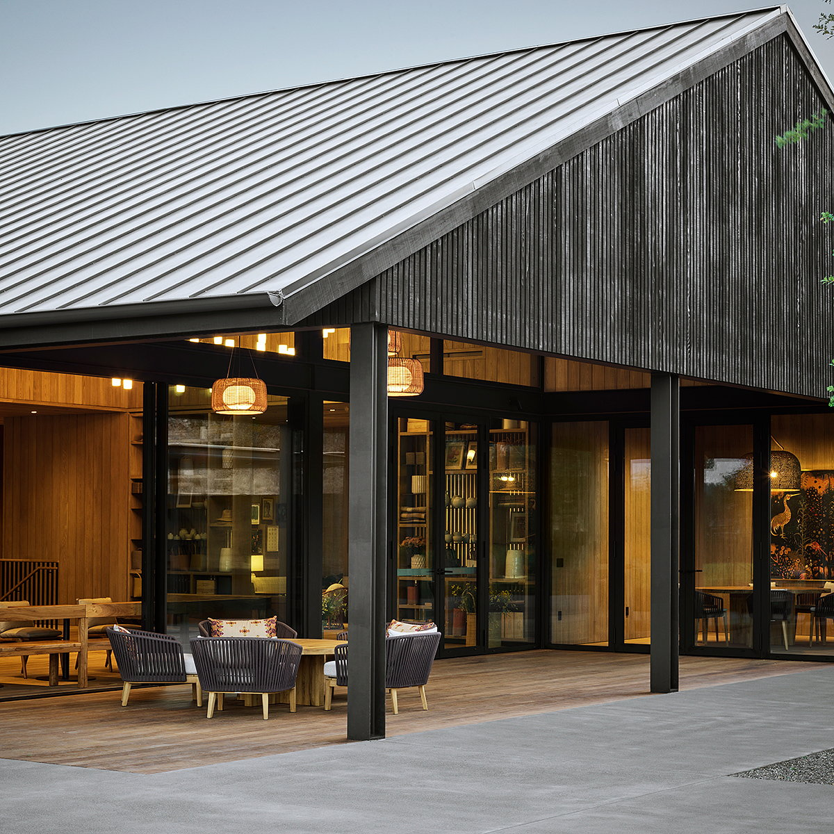 'House of Flowers' Destination Winery Opens in Healdsburg, California