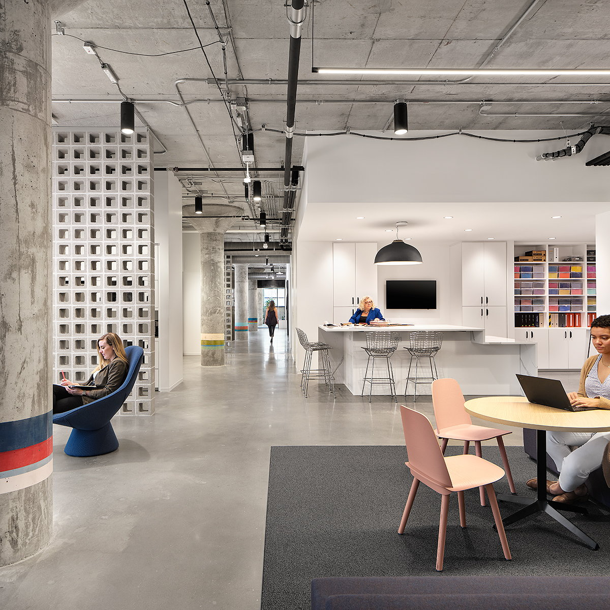 Perkins and Will Unites its Two Austin Studios in a Dynamic New Location