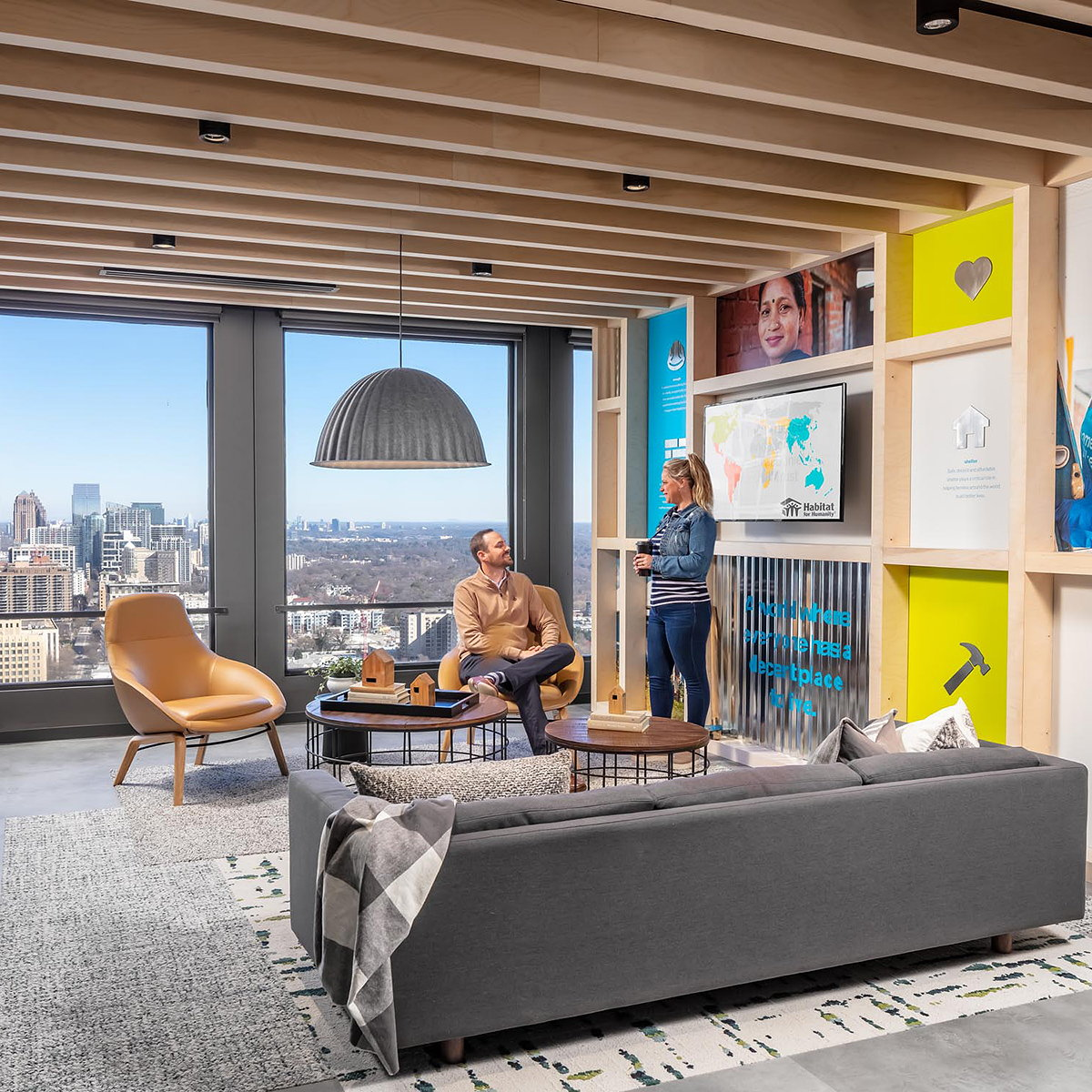 NELSON Worldwide Translates Habitat for Humanity's Brand Culture in New Atlanta Headquarters