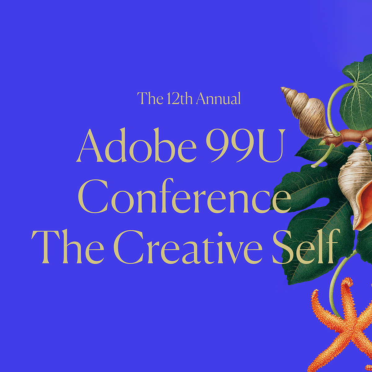 Adobe 99U Conference 2020 Goes Online