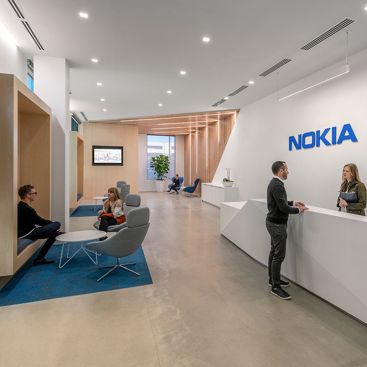 CallisonRTKL Brings Together Two Nokia Offices to Create One Collaborative Workplace