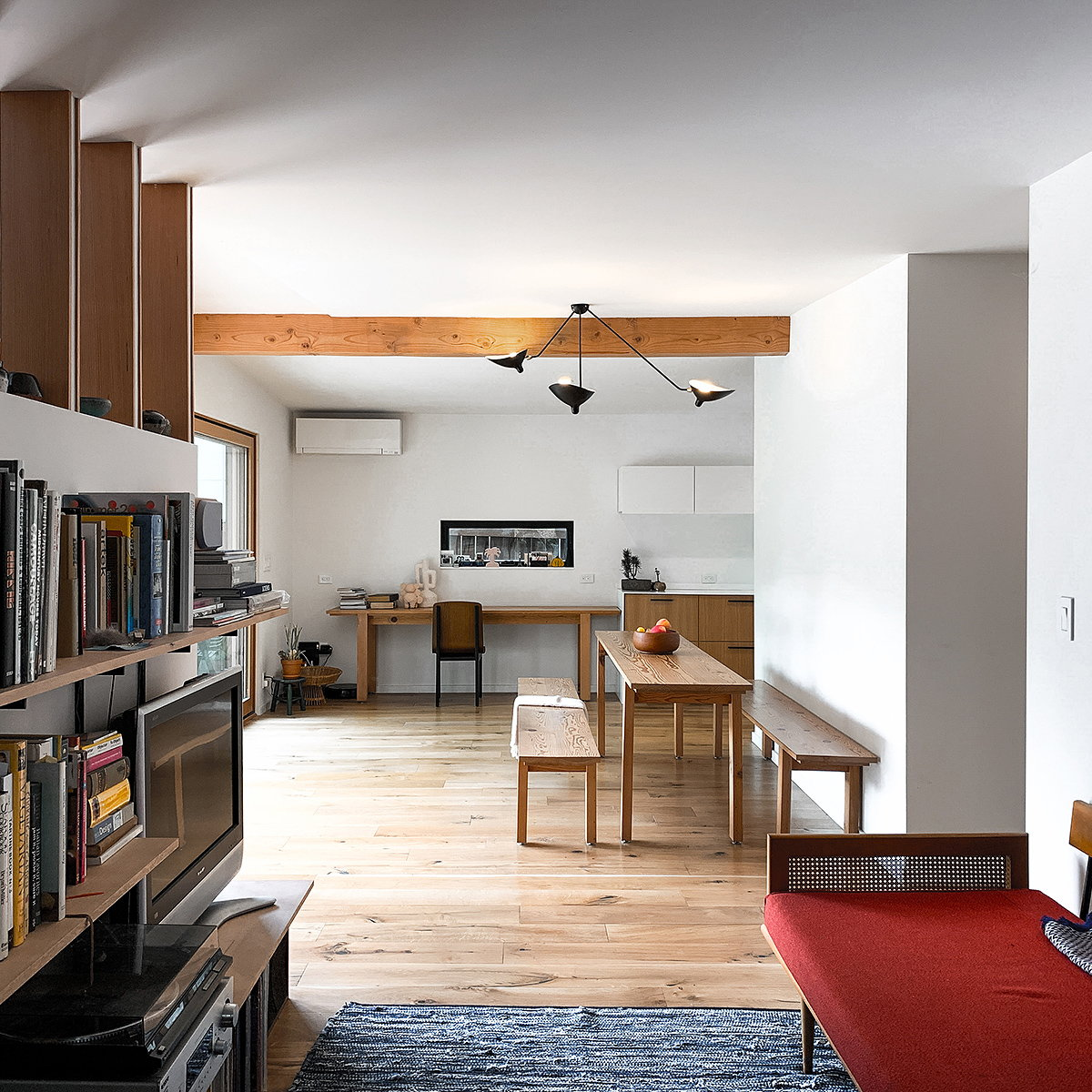 Midcentury and Modern Meet In Smooth Bumpout by SHED