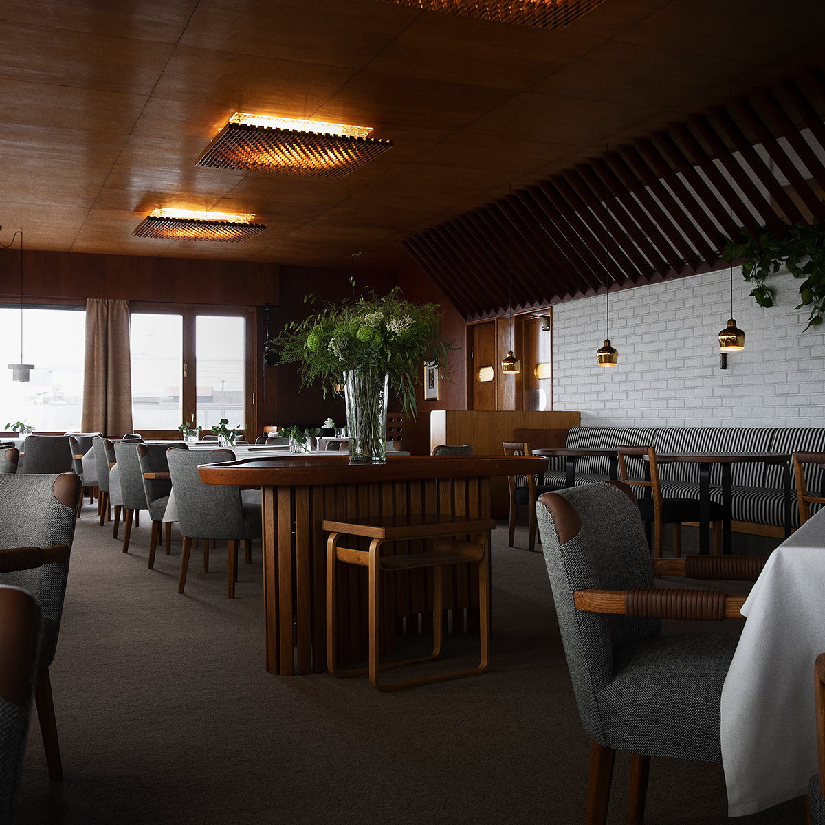 Restaurant Savoy by Alvar and Aino Aalto Now Open After Renovation by Studioilse