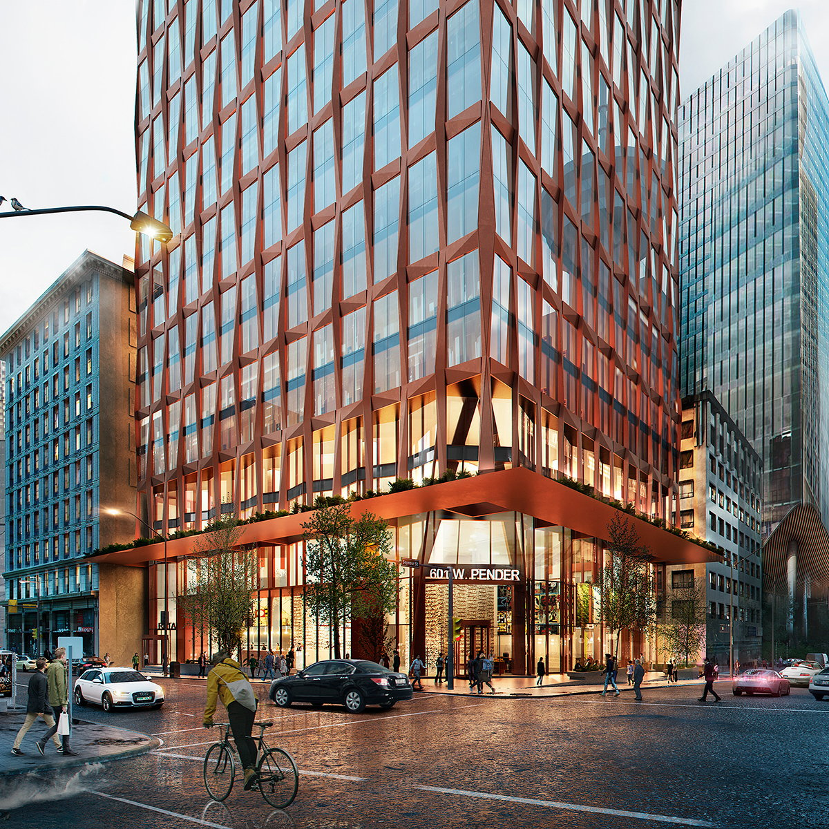 KPF Receives City Approval for 601 West Pender Street in Vancouver