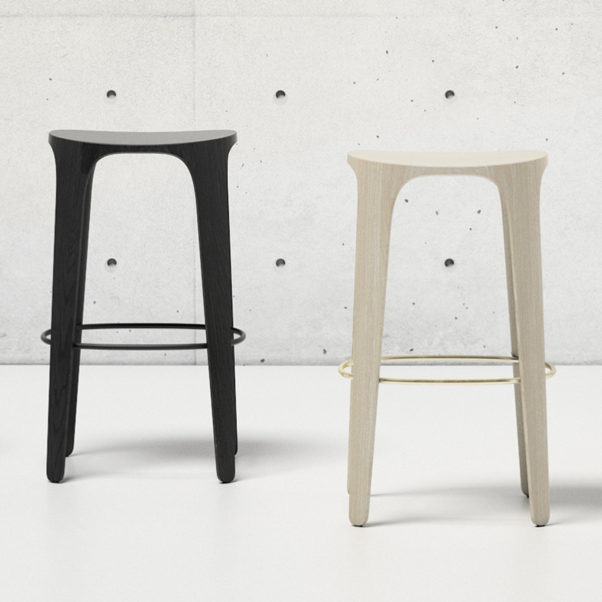 HBF Introduces Jueki Stool Series Inspired by Nature