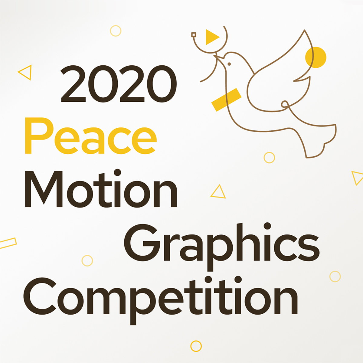 2020 Peace Motion Graphics Competition Opens for Entries