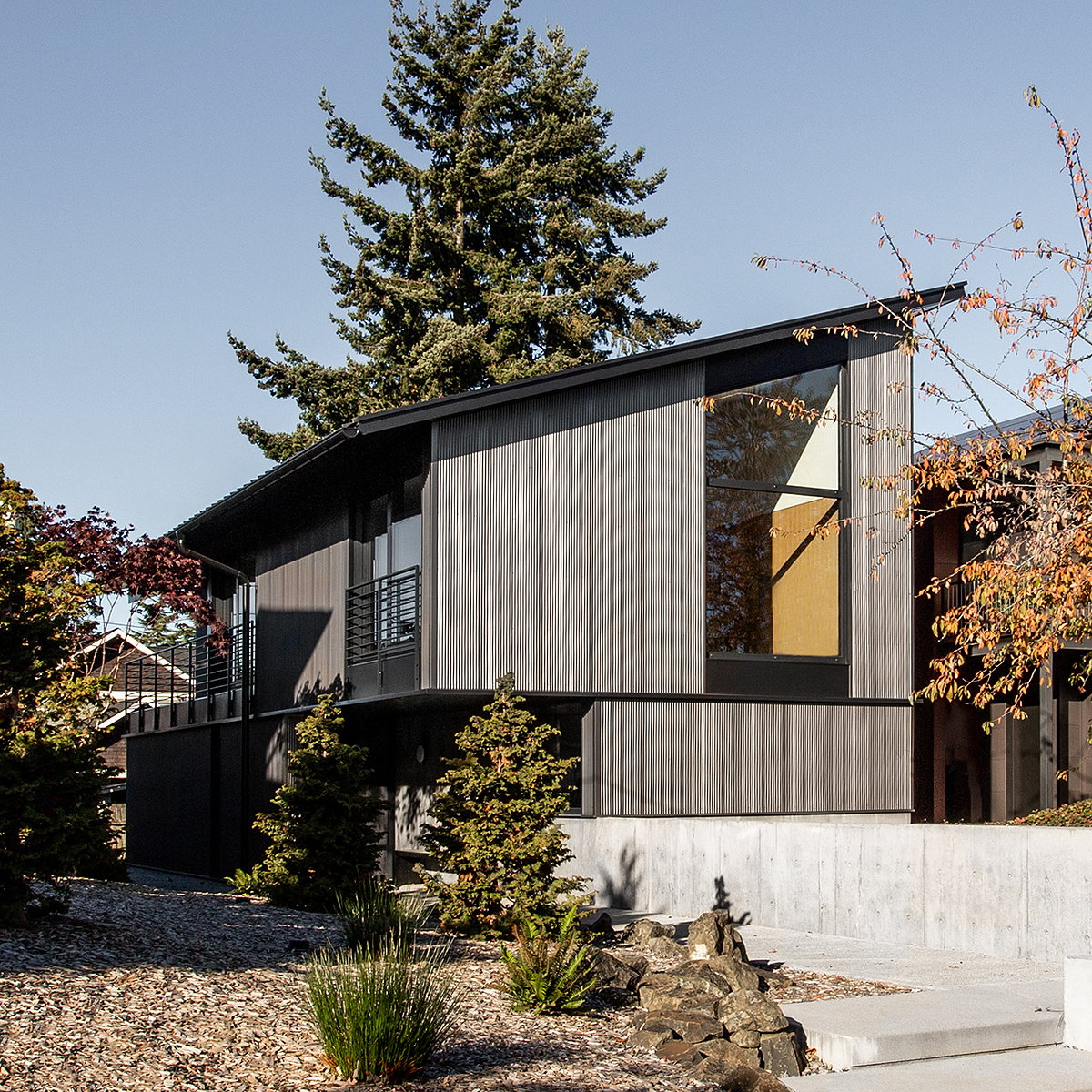 SHED Architecture Designs Compact Net-Zero Home in Seattle