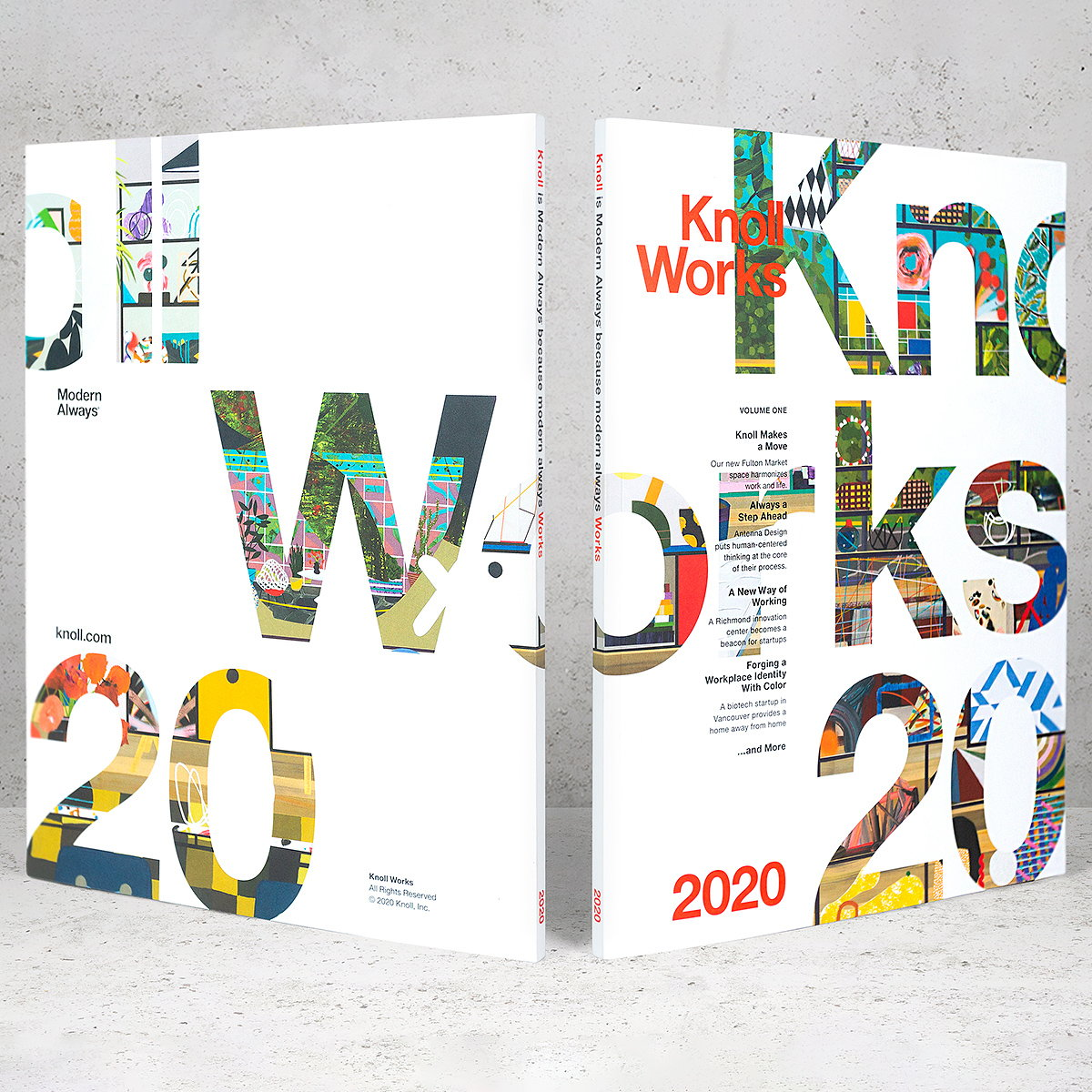 Gretel Designs First Annual Knoll Works Publication