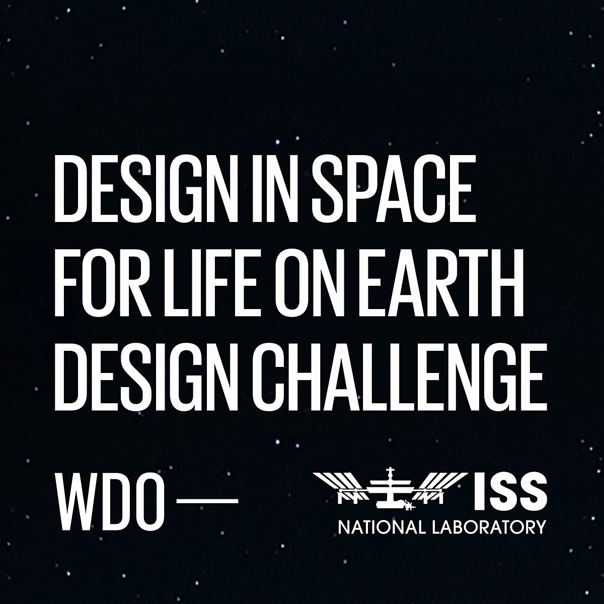 WDO Launches 'Design in Space for Life on Earth' Design Challenge