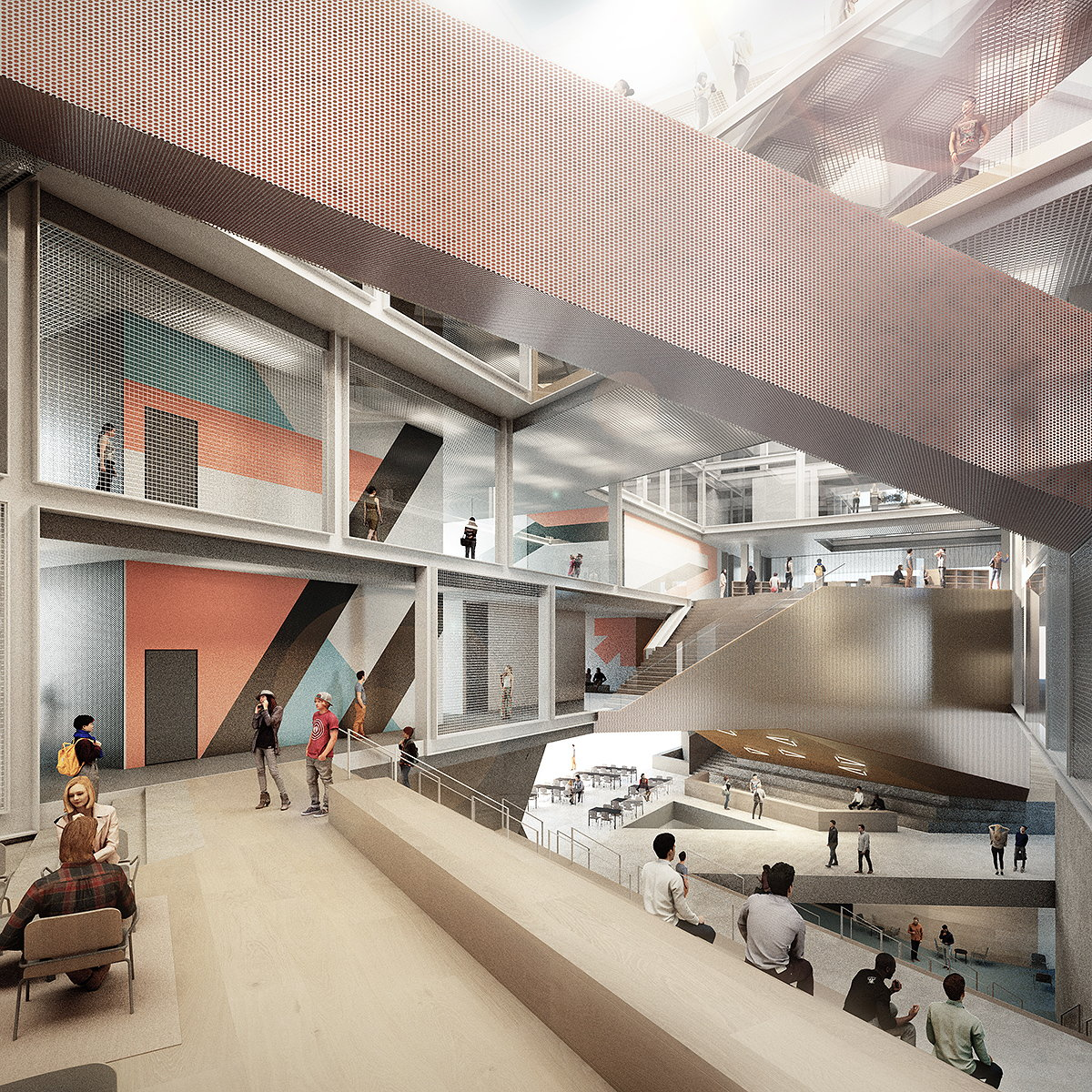 ZAS Architects Unveils Design for University of Toronto's New Learning Landscape