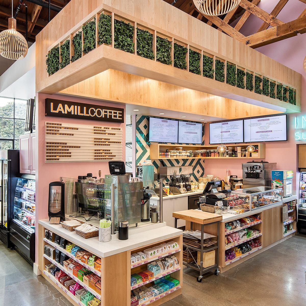 MBH Architects Designs Tropically-Inspired Indie Superette Market in San Francisco