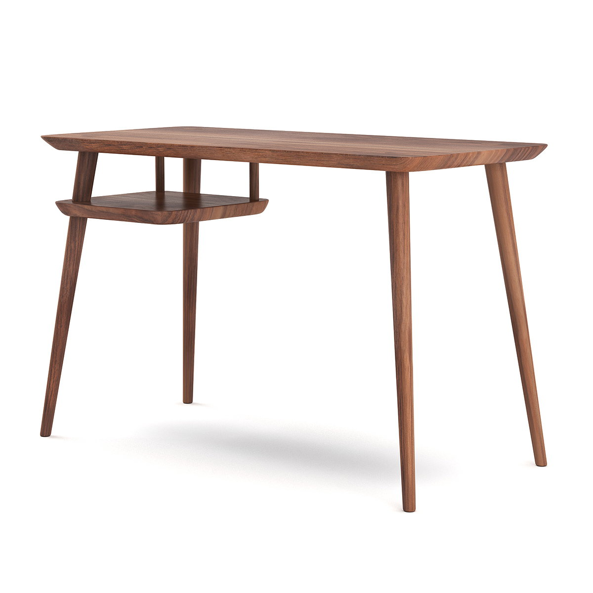 Medley Debuts Hank Monitor Desk Handcrafted from FSC-Certified Wood