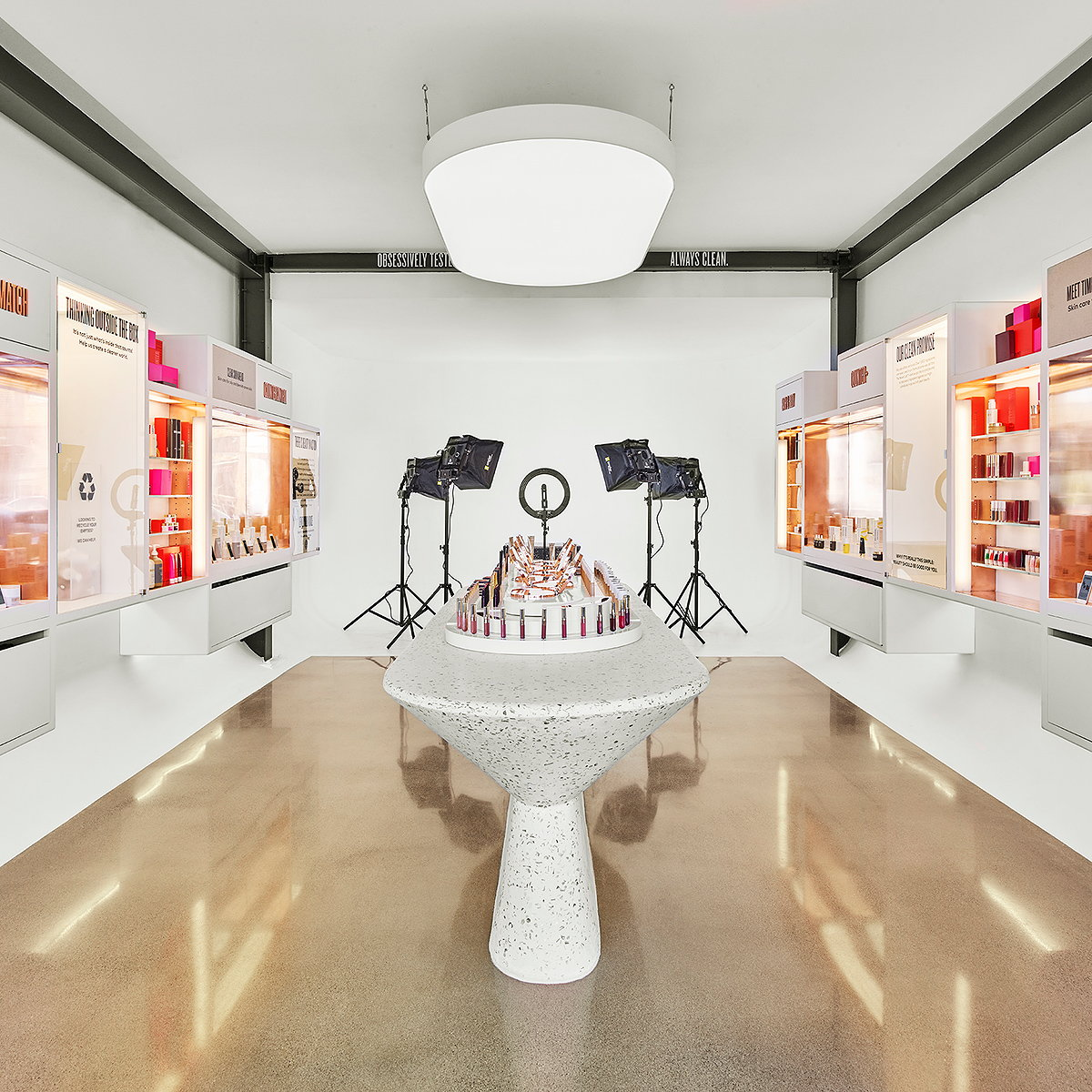 Mythology Designs Beautycounter's LA Flagship and Livestream Content Studio