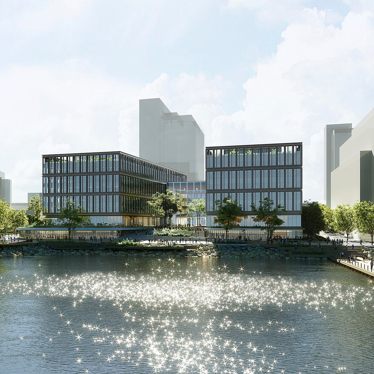 KPF Reveals Designs for T. Rowe Price HQ
