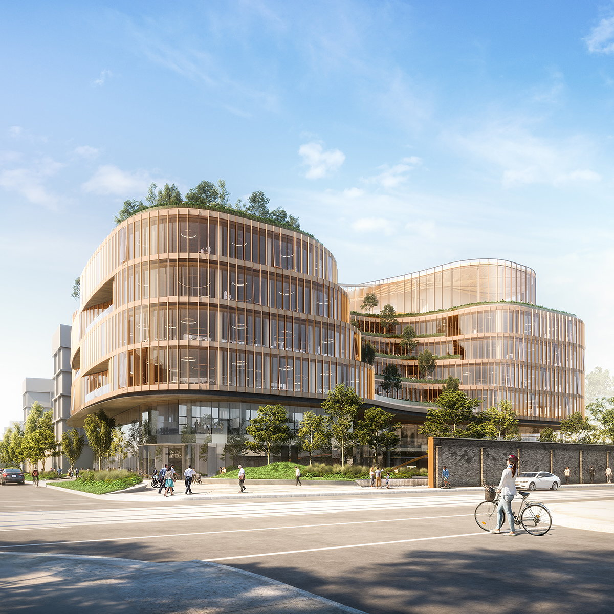 KPMB Unveils Designs for Toronto's Centre for Addiction and Mental Health (CAMH)