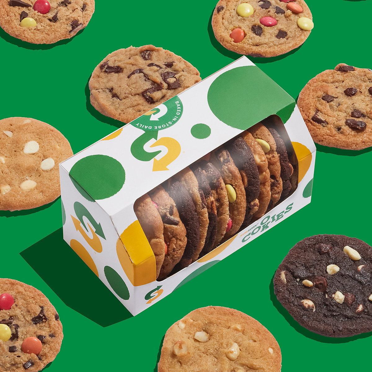 Above+Beyond Designs New Branding for Subway Classic Cookies