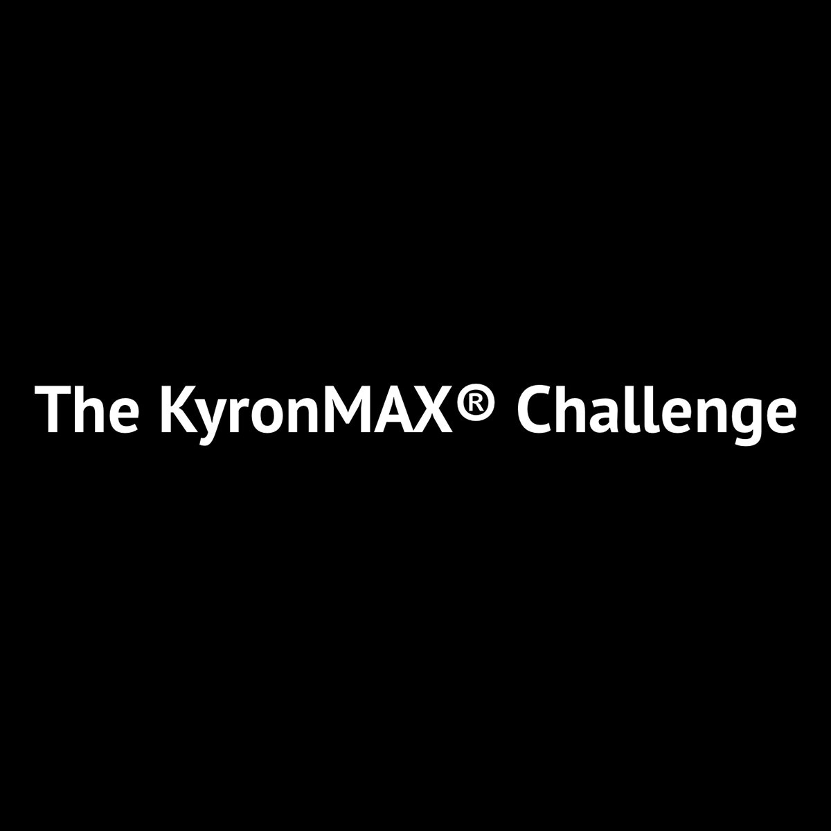 Mitsubishi Chemical Advanced Materials Launches KyronMAX Challenge