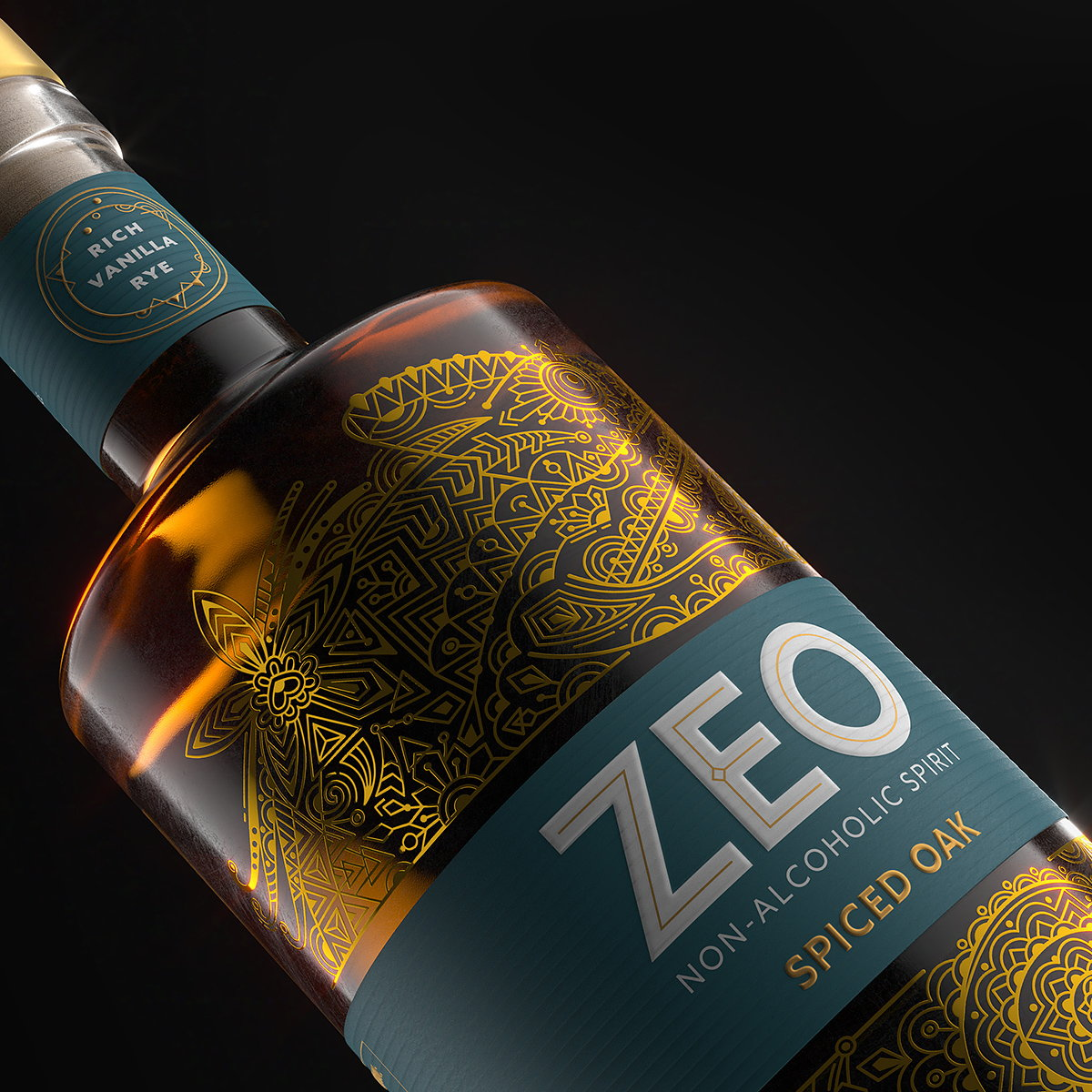 Knockout Designs New Identity and Bottle for ZEO