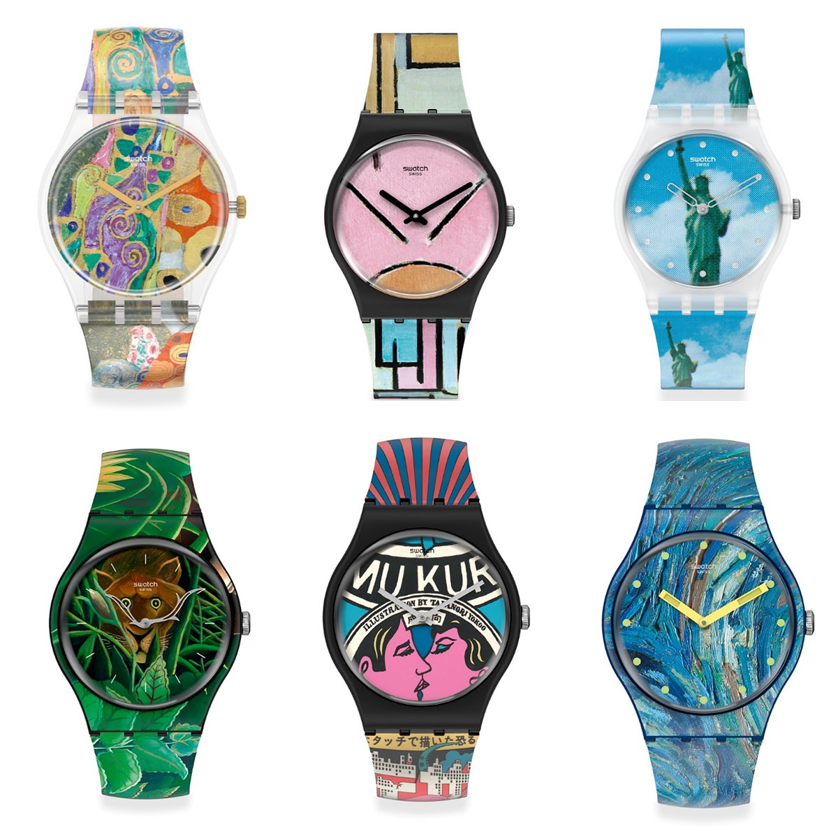 MoMA and Swatch to Launch Special-Edition Watches