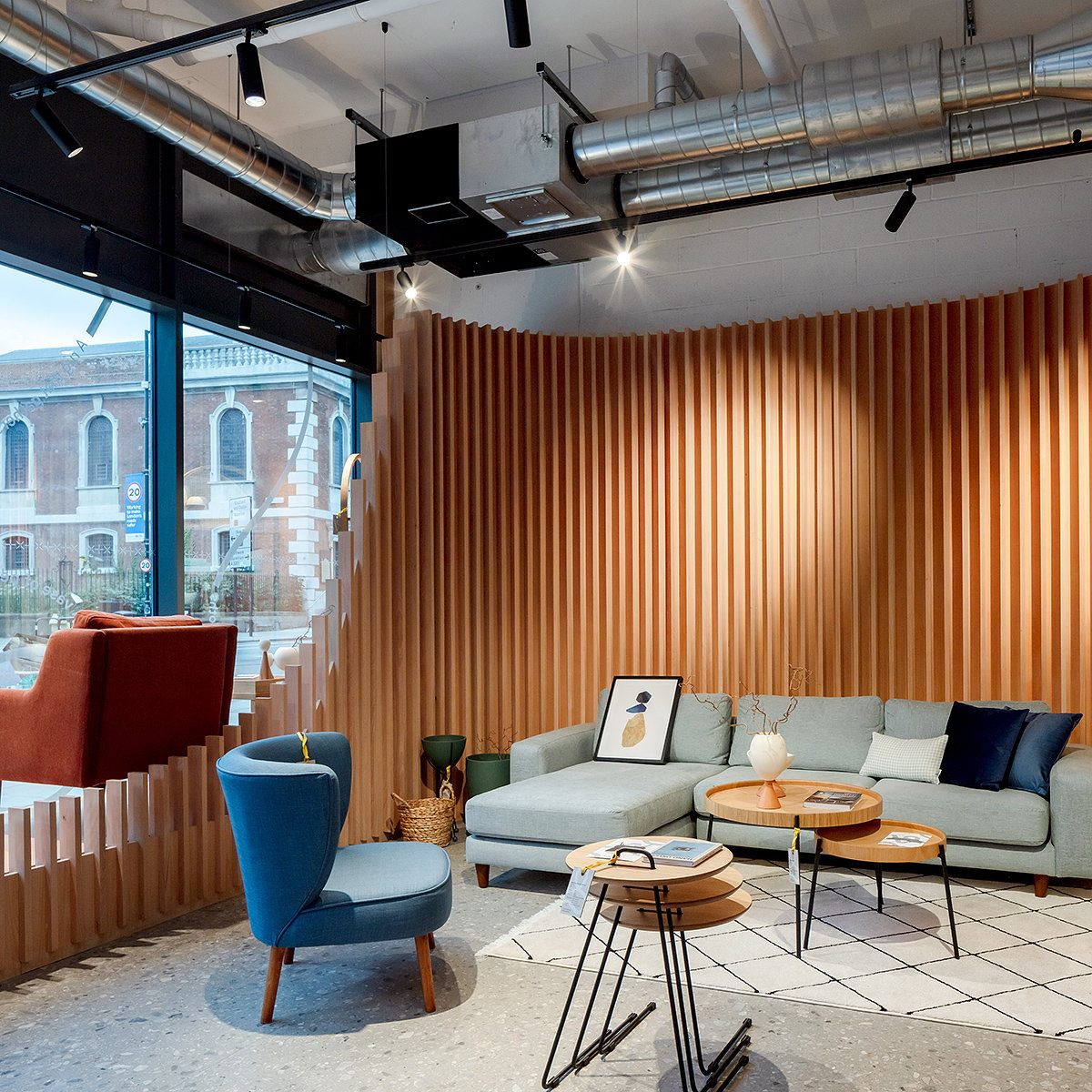 Haptic Architects Designs New Showroom for Vivense London