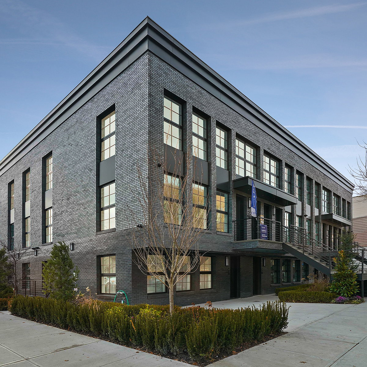 Marin Architects Completes The Huntington in Historic Red Hook