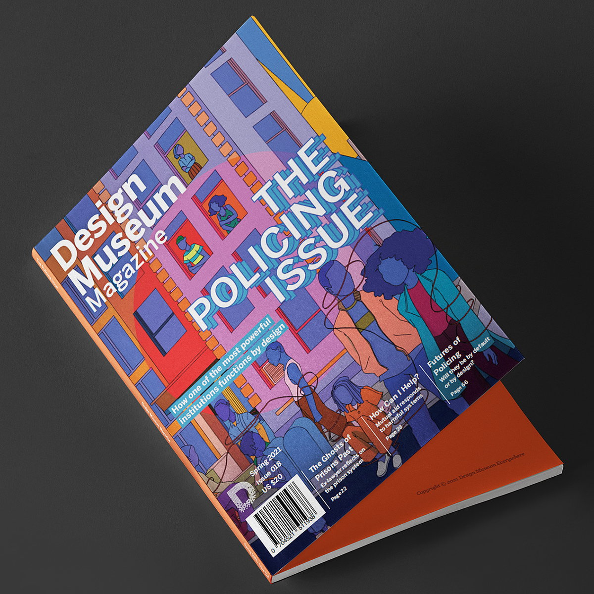 Design Museum Magazine's Policing Issue Explores How the Most Powerful Institution Functions by Design