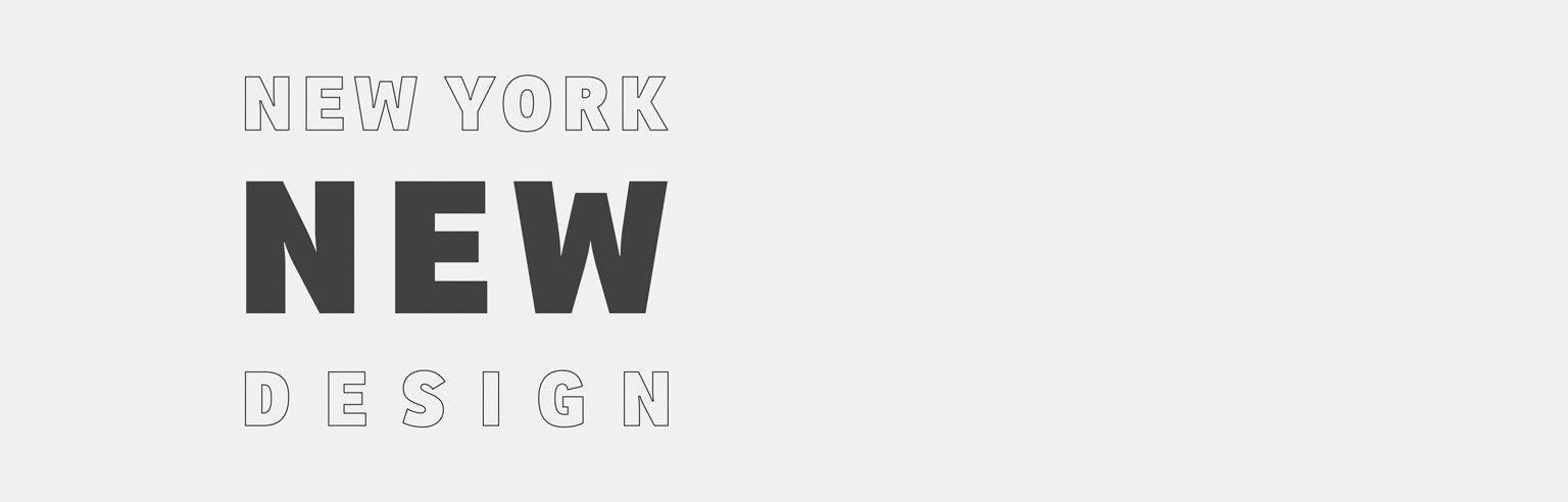 New York New Design 2016. York New Design 2016