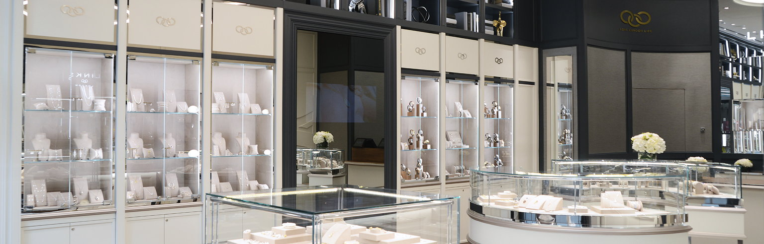 sheridan co creates new retail interior design for links of london