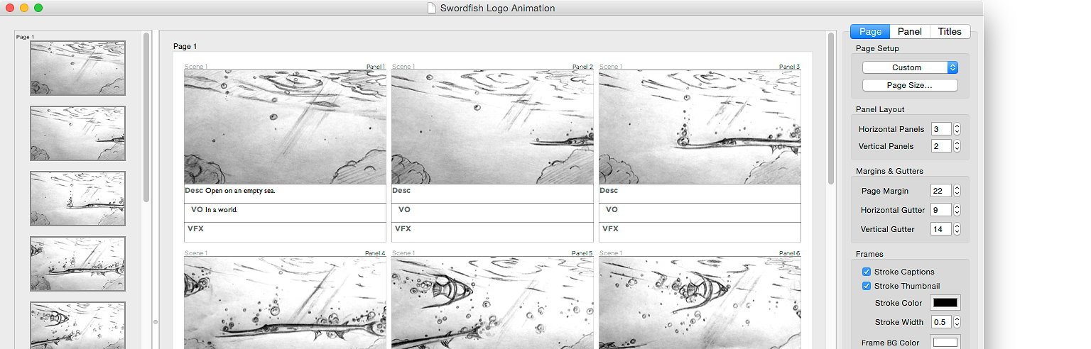 Boardfish ProductionProven Page Layout Tool Designed