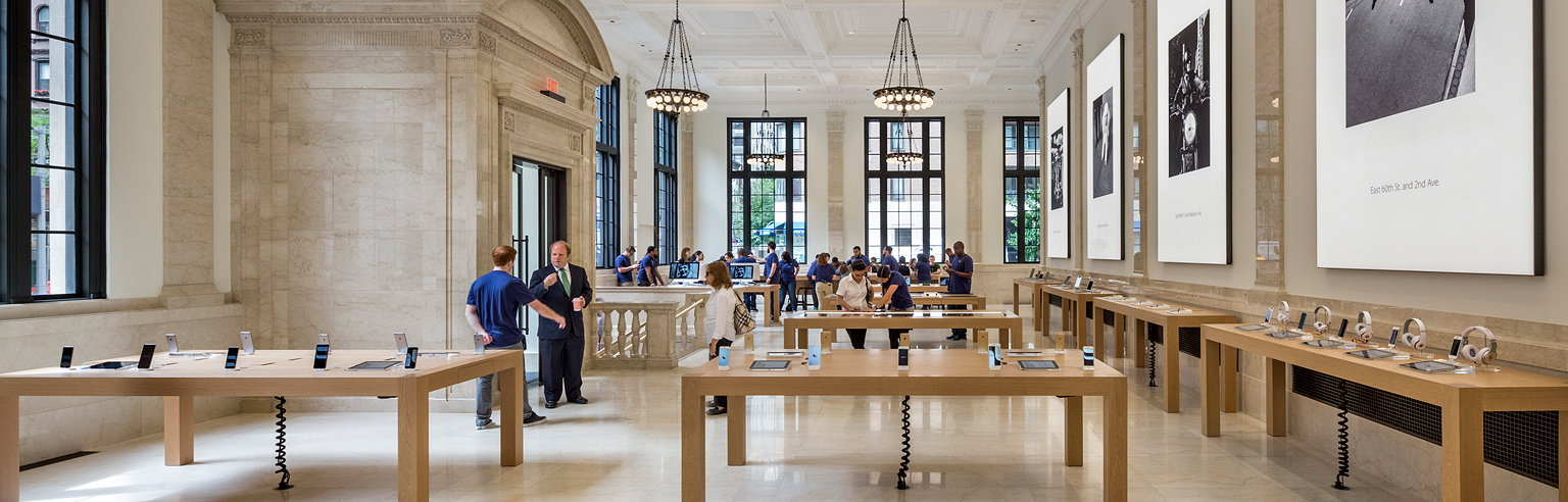 Bohlin Cywinski Jackson Receives Special Commendation For Apple Store,  Upper East Side