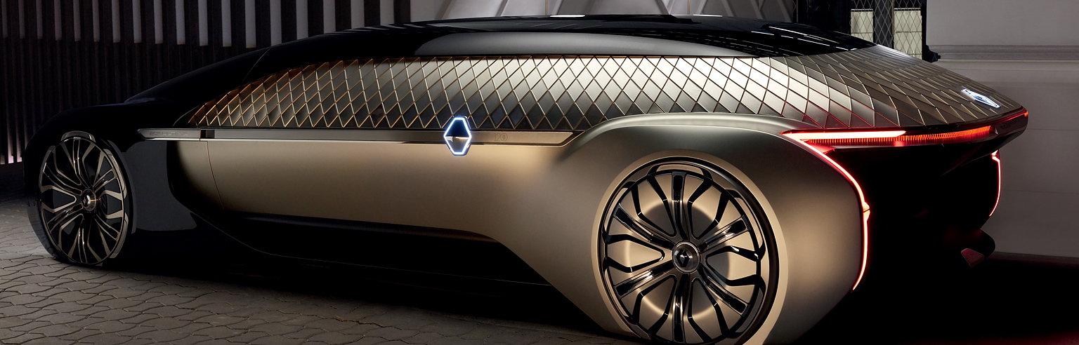 Renault Ez Ultimo Robo Vehicle
