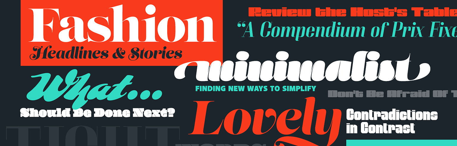 Download Adobe Releases 30 Free Font Packs